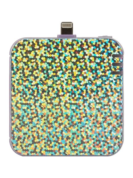 Ban.do Back me up mobile battery pack, disco/lilac