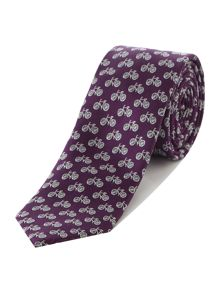Ted Baker Bike Patterned Tie