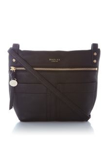 Radley Kensal medium ziptop acrossbody bag