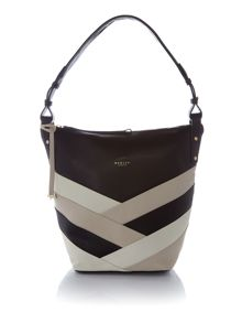 Radley Singer street large ziptop hobo bag