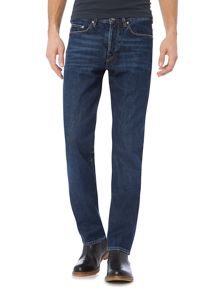 PS By Paul Smith Standard fit dark wash indigo jeans