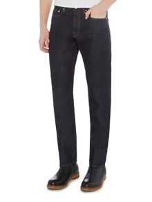 PS By Paul Smith Standard fit indigo rinse jeans