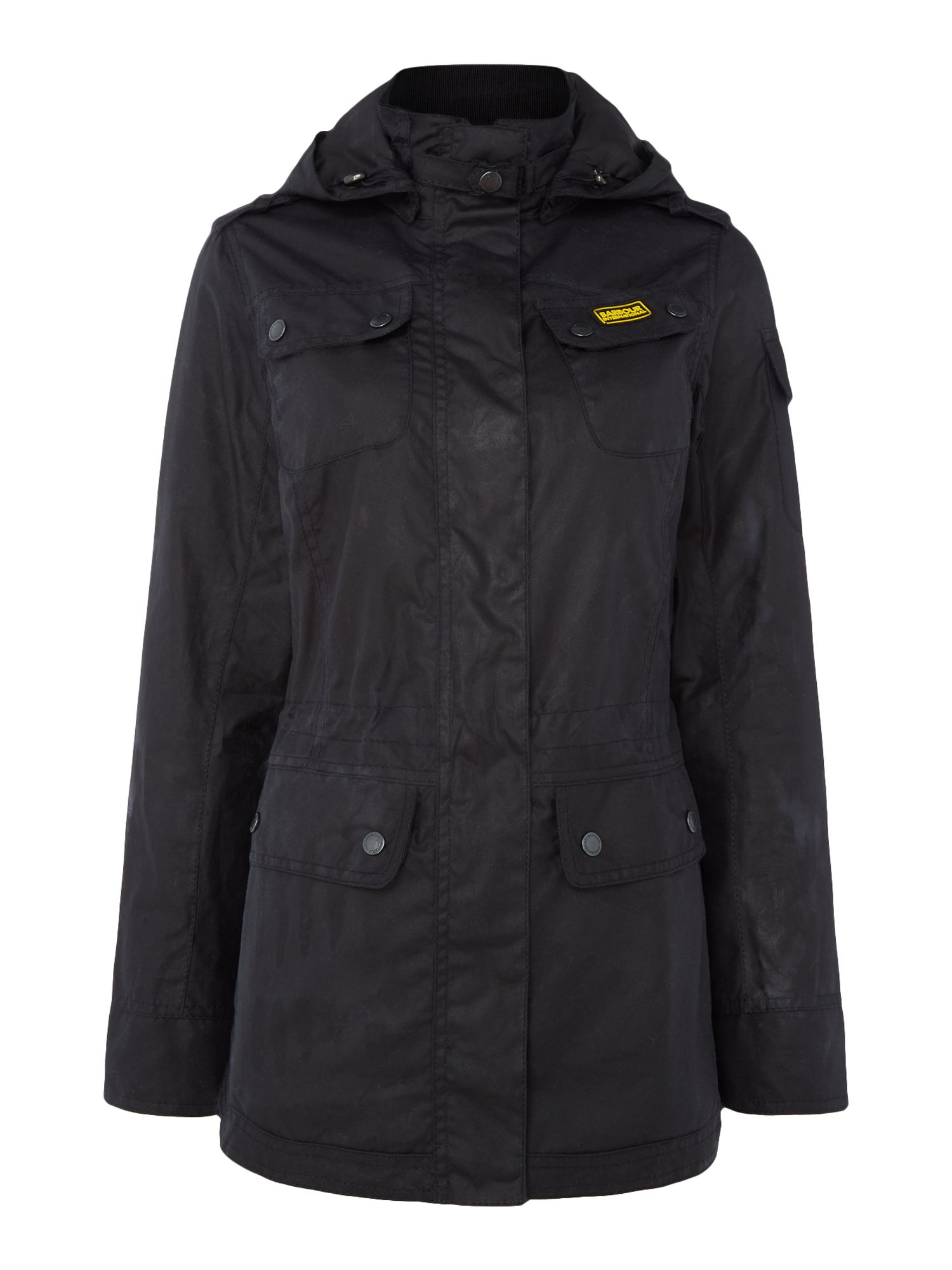 Barbour Barbour international switch wax parka Navy