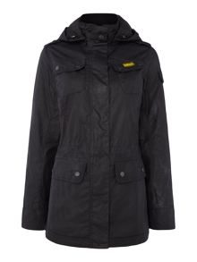 Barbour Barbour international switch wax parka