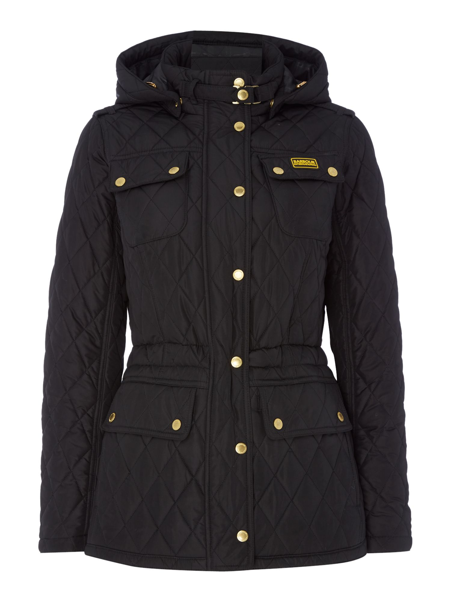 Barbour Barbour international absorber parka, Black