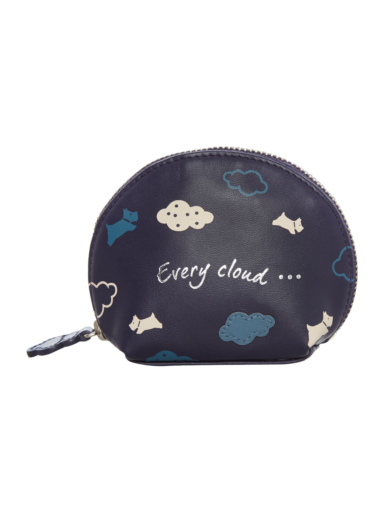 Radley Every cloud small zip around coin purse Navy
