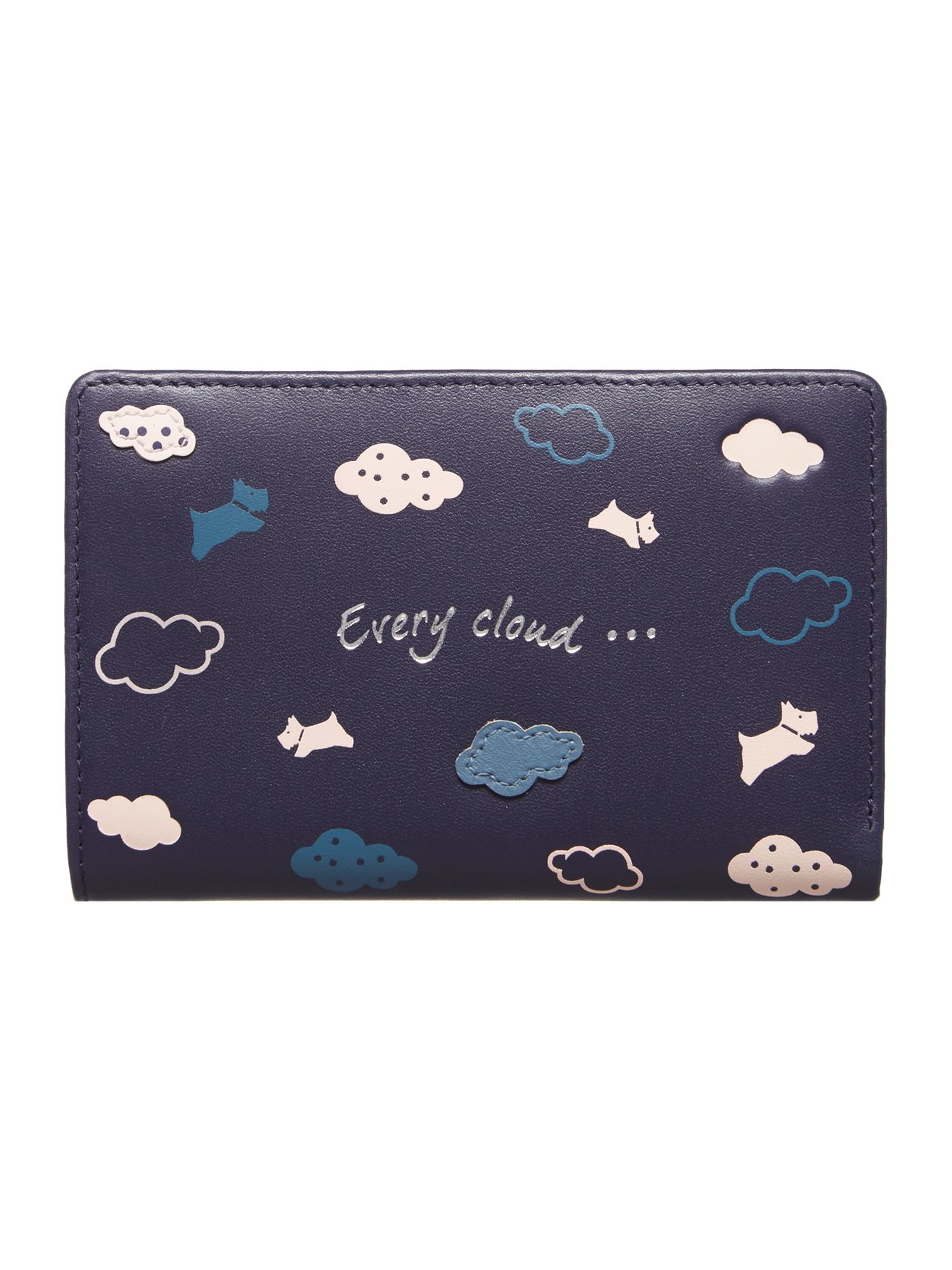 Radley Every cloud medium zip purse Navy