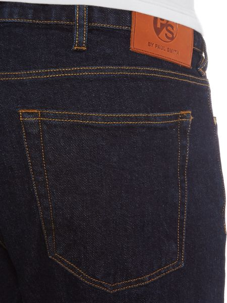 PS By Paul Smith Tapered fit indigo dark wash jeans