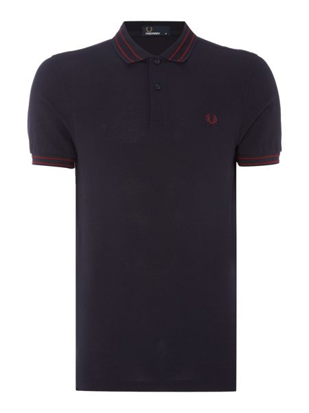 Fred Perry Tramline collar pique polo