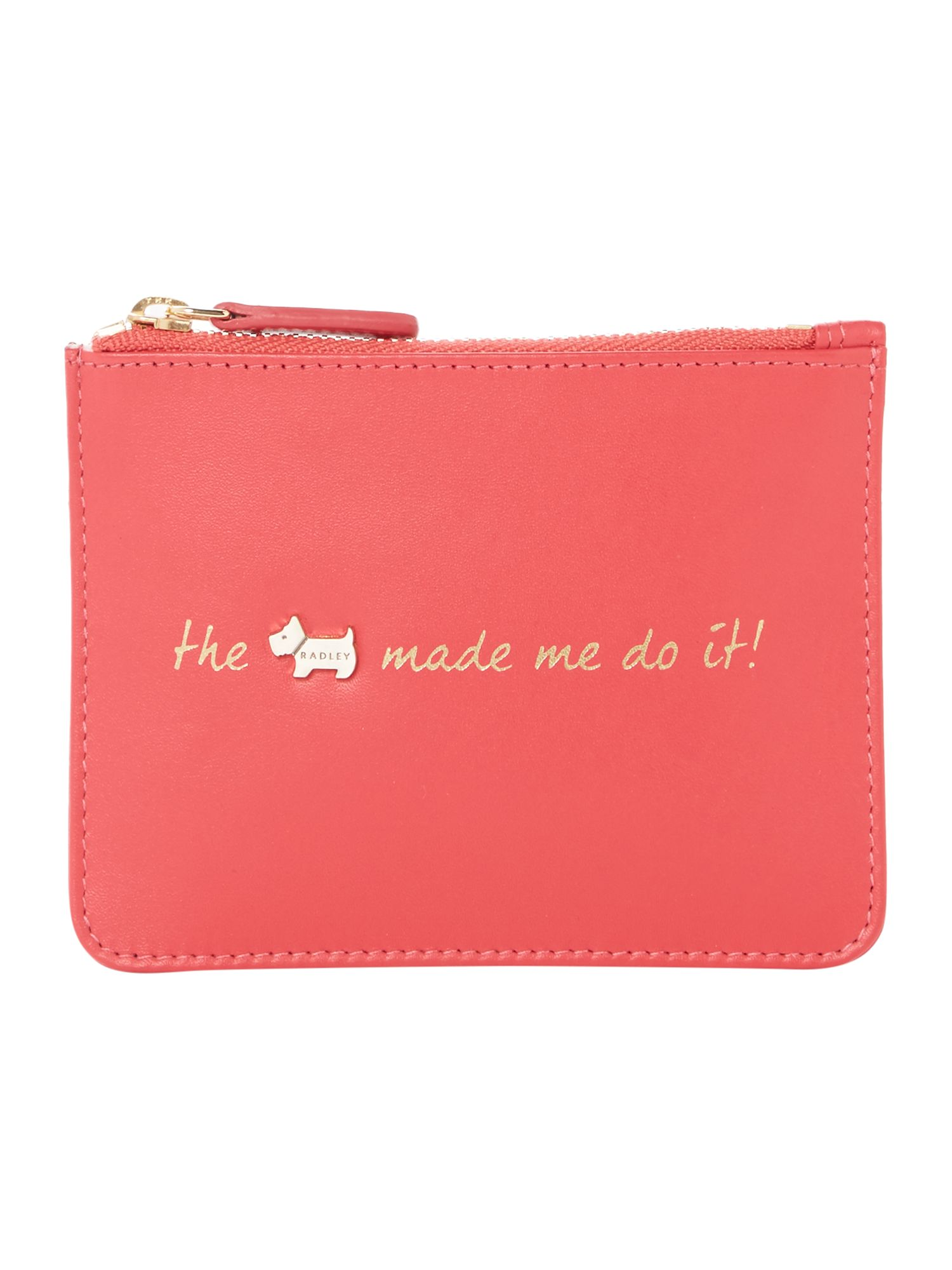 Radley Excuses excuses small zip pouch purse Pink