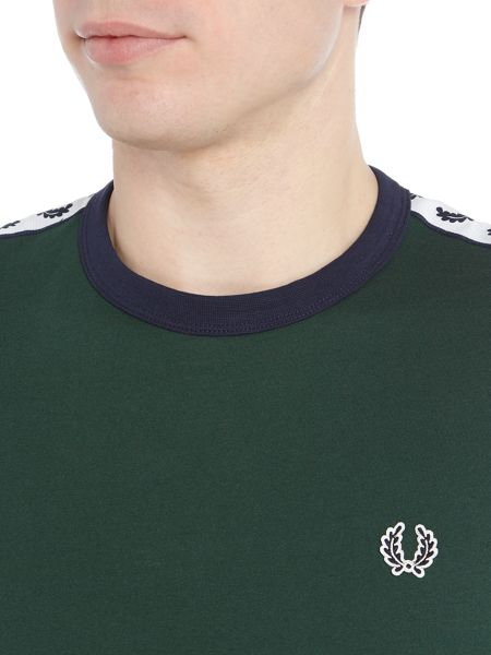 Fred Perry Plain Crew Neck Regular Fit T-Shirt