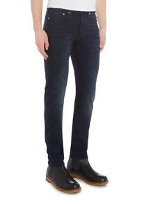 PS By Paul Smith Slim stretch fit navy dark wash jeans