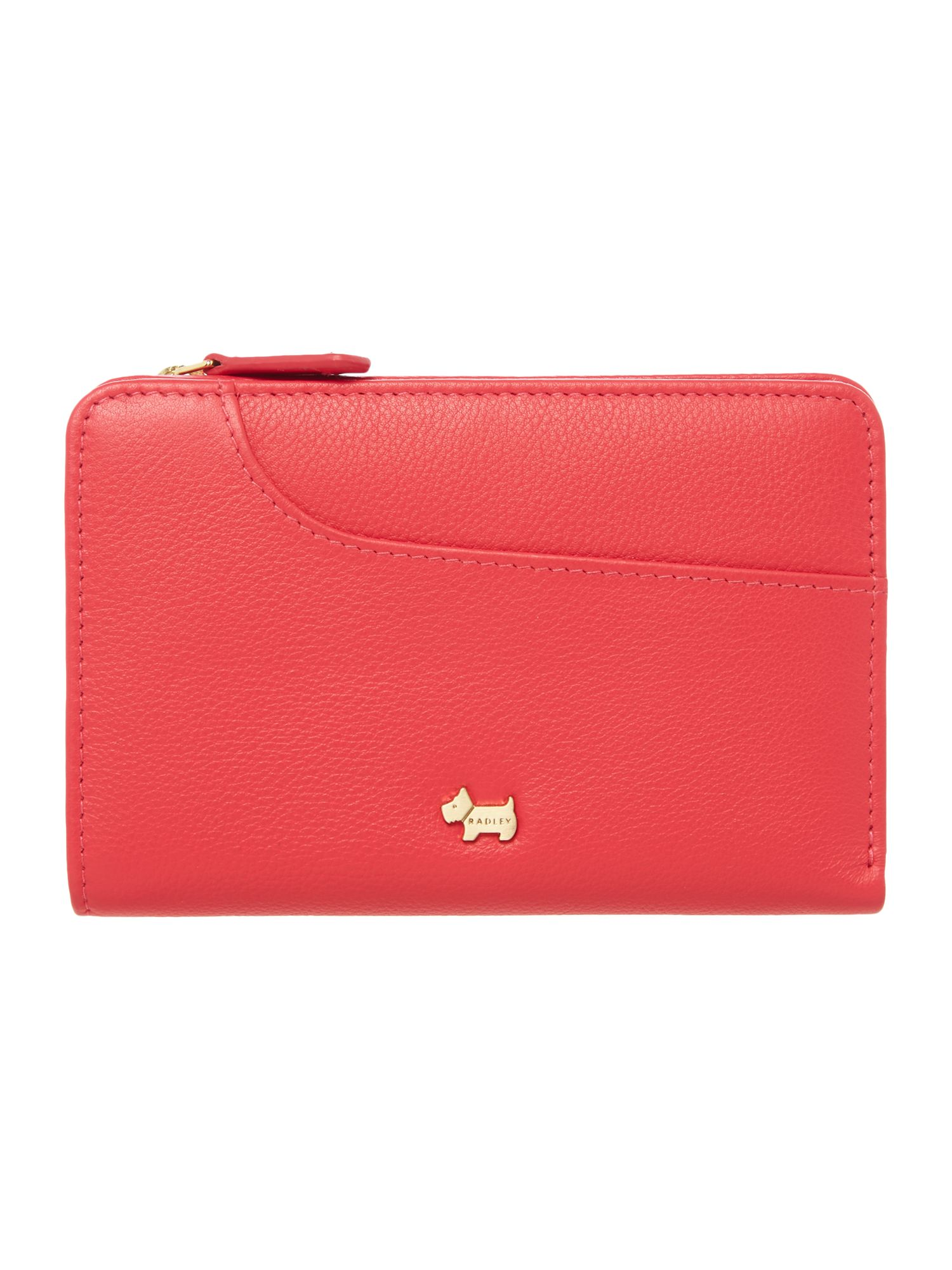 Radley Pocket bag slg medium zip purse Pink