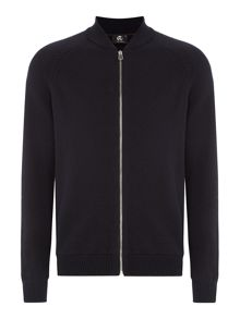 PS By Paul Smith Zip-up knitted merino cardigan