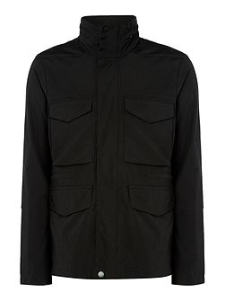4 Pocket zip-up field jacket