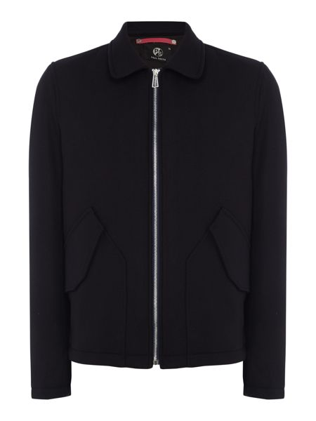 PS By Paul Smith Zip-up flight jacket