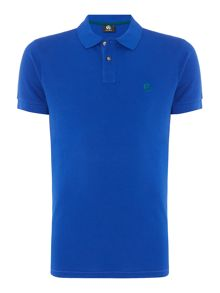 PS By Paul Smith Slim fit contrast logo polo