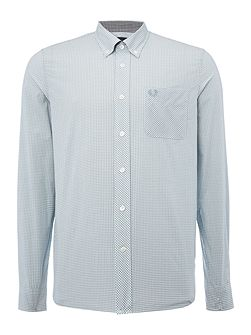 Long sleeve classic gingham shirt