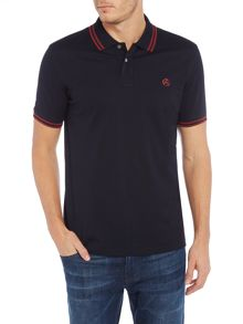 PS By Paul Smith Regular fit tipped logo polo