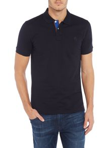 PS By Paul Smith Slim fit tonal logo polo top