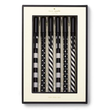 Kate Spade New York Top off the line pen set