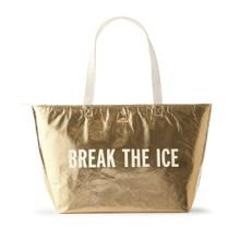 Kate Spade New York Break the Ice Gold Cooler Bag