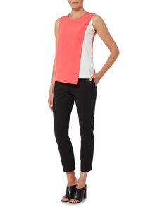 Episode Sleeveless top with panel underlay