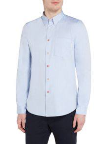 PS By Paul Smith Tailored fit button down oxford shirt