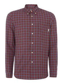 PS By Paul Smith Tailored fit flannel checked shirt