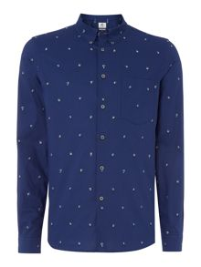 PS By Paul Smith Tailored fit dice men printed shirt
