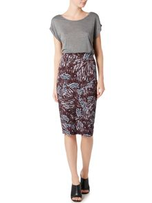 Label Lab Anson wings jersey skirt