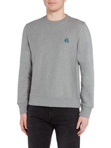 PS By Paul Smith Crew neck logo sweat top