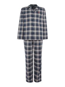 Hugo Boss Checked Pyjama Shirt and Bottoms Gift Box