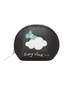 Radley Silver lining sml zip around coin purse
