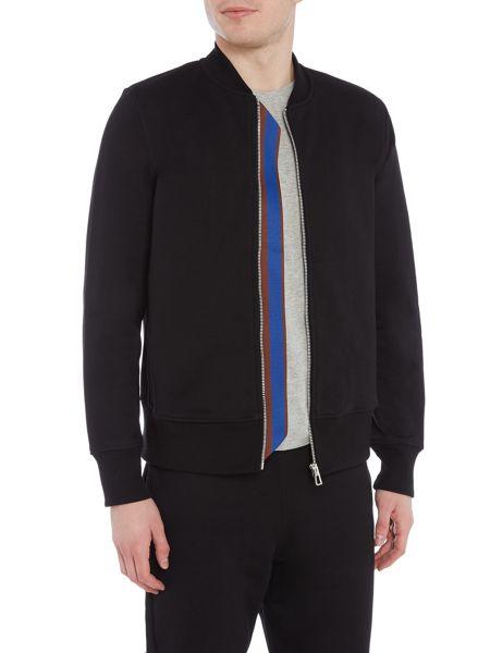 PS By Paul Smith Zip-up sweat bomber jacket