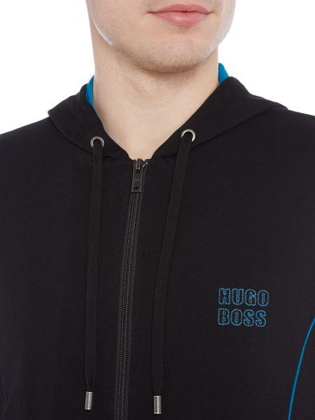 Hugo Boss Authentic Ches Logo Longewear Hoodie