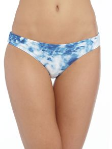 Seafolly Carribean ink reversible bikini hipster