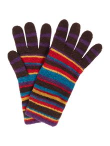 Paul Smith Striped Cotton Gloves