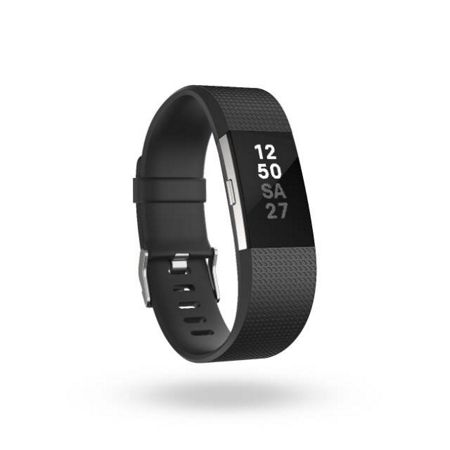 Fitbit Charge 2 Black & Silver, Small
