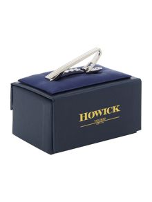 Howick Tailored Engraved Lines Tie Clip