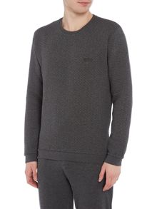 Hugo Boss Contempary Quilted Sweatshirt