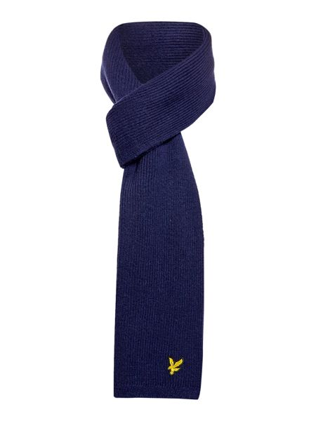Lyle and Scott Classic ribbed scarf