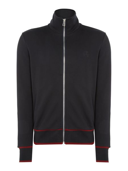 PS By Paul Smith Funnel neck zip-up logo sweat top