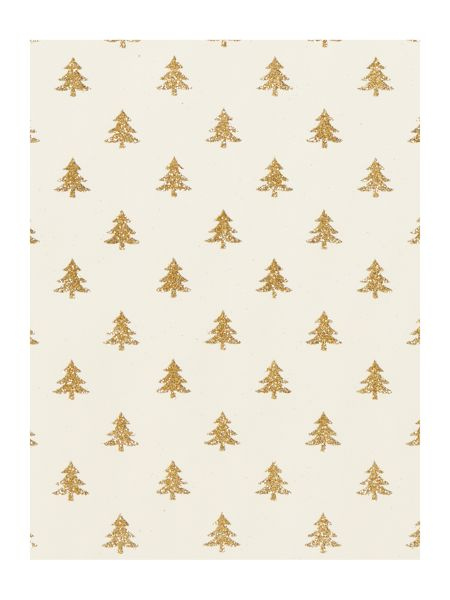Linea Gold glitter tree 2m wrapping paper