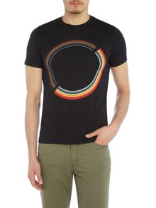 PS By Paul Smith Rainbow circle print t-shirt