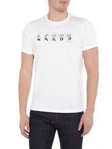 PS By Paul Smith Dancing dice print t-shirt