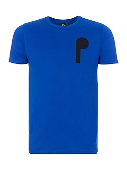 PS front back logo print t-shirt
