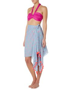 Seafolly Tibetan travels jacquard sarong
