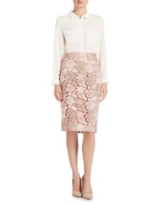 Episode Skirt with all over lace