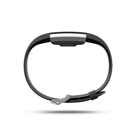 Fitbit Charge 2 Black & Silver, Large